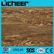 Wpc imperméable à l'eau Revêtement de sol en composite 5,5 mm Wpc Revêtement de sol en bois Wcc haute densité 7inx48in