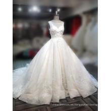 Vestidos de novia nupciales de la muestra 2018 del vestido de boda del vestido de boda del fabricante de encargo