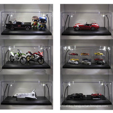 Clear Acrylic Car Model Box, Lucite Model Display Case