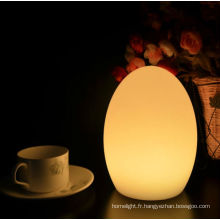 unbreakable décoratif couleur changeante LED lampe de Table
