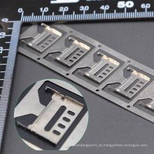 Componente de chapa metálica estampada profissional