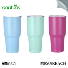 Vacuum Insulated Travel Tumbler With Splash Proof Lid