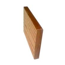 Material plástico de madera favorable al medio ambiente