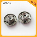 MFB33 Classic jeansl western good brushing metal jacket buttons for men 20mm