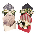 Envelope shape luxury flower box