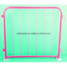 Barrera temporal de barrera de metal Barreras de tráfico de barrera de municiple