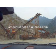 Tracteur de pierres prix de l'usine de machines pour la route et le pont