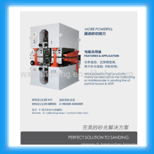 Machine de ponçage à 4 pieds / machine à poncer lourd 1300mm MDF et panneau de particules