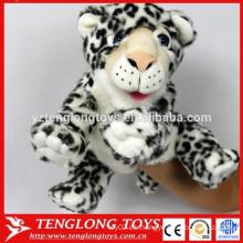 Marioneta animal de la mano del tigre de la felpa de los juguetes lindos para la venta