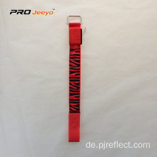 Reflektierende LED Light Red Zebra Gurtband Armband