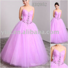 Luxo fashional produção real Evening Gown ED2052