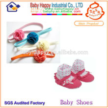 Fashion Baby Sock Shoes and hairband set