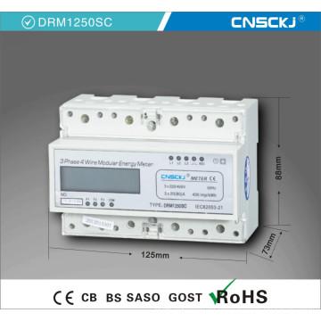 Трехфазный многоскоростной электронный измеритель энергии на DIN-рейке