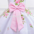 Hot sale china supplier girls dress with bow flower girl dresses for weddings