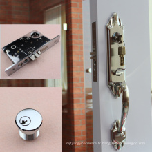 Serrure de porte coulissante de placard de haute qualité, noms de marque de serrure de porte, système de serrure de porte