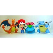 ИКТИ индивидуальные Покемон ПВХ мини фигурку куклы детские игрушки