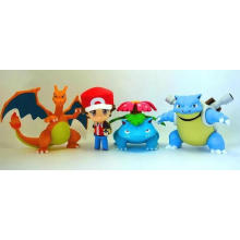 ICTI Pokemon Customized PVC Mini Action Figure Doll Kids Toys