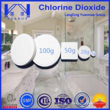 Le meilleur agent de choix recherché le dioxyde de chlore pour purifier le fongicide chimique pour l'environnement intérieur