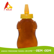Miel de Polyflower fresca en botella de plástico Squeeze 500g