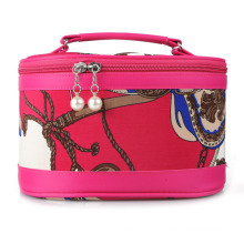 Lady Fashion Printed Nylon Cosmetic Makeup Beauty Case (YKY7539-1)