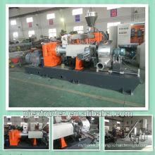 Extrusora / máquina de dois estágios da boa qualidade para o material do cabo do PVC XLPE