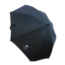 Black Advertising Straight Umbrella (JYSU-25)
