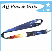 Heat Transfer Neck Lanyard with Printed Logo