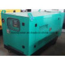 Tipo silencioso británico del generador diesel de la tarifa espera 15kVA 12kw