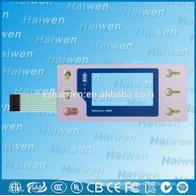 With LCD Display Window Membrane Keypad