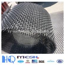 Malla de alambre prensado (acero de bajo contenido de carbono)