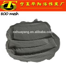 Sablage abrasif sable corindon noir pour le meulage et le polissage