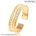 51477 Bracelet de manchette large en or 18 carats pour femme