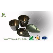 Cadinho de níquel de alta pureza de 99,6% (30 ml, 50 ml, 100 ml)