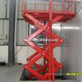 CE Bescheinigter hydraulischer Scheren-Lastenaufzug