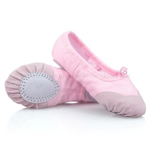 OEM Canvas Soft Ballet Dance Shoes with Skidproof Toe Cap