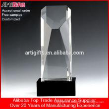 Meilleur prix personnalisé Crystal chant trophée