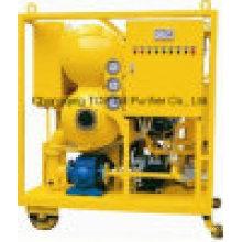 Equipamento de purificação de óleo de transformador de duplo estágio para vácuo (ZYD)