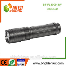 Alibaba Hot Sale Portable Handheld Camping Usage Aluminium Le plus puissant 3W Cree Matal Outdoor led torch light manufacturers