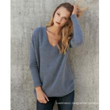 2017 lady fashion wool cashmere blend woman sweater, knitted woman sweater