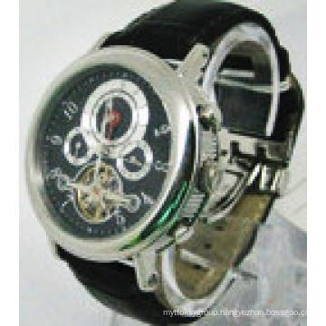 Fashion Men′s Stainless Steel Men′s Wrist Automatic Watch Wholesale Wirst Watch