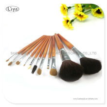 2013 Professional Cosmetics Brushes With Bamboo Handle