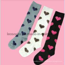 Girl′s Cotton Fashion Stocking (DL-STK-05)