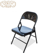 Strong all in metal frame dining folding chair