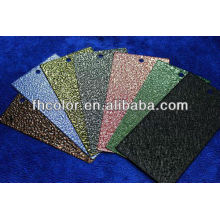metallic finish powder coating