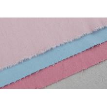 Tissu de coton tissé uni tissu teint usine Prix