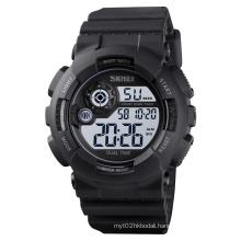 skmei 1583 Best PU Band Digital Display Men Watch Hot Sale Sport Watches Customized OEM