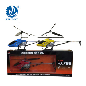 3.5 Channel Radio Control Airplane 62cm Length 3.7V RC Alloy Helicopter