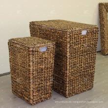 Wasser Hyacinth Wäschekorb Wicker Möbel - Set von 3