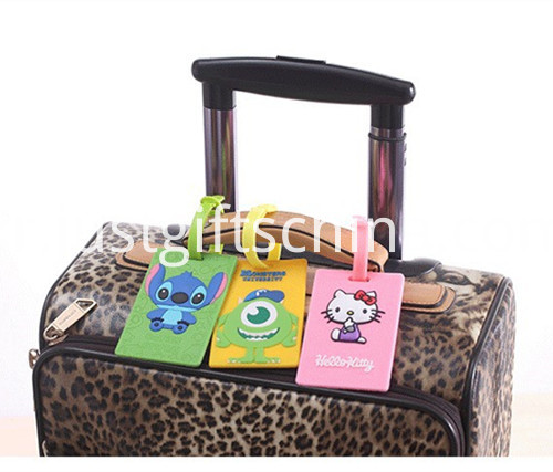 Promotional PVC Printing Luggage Tags 4