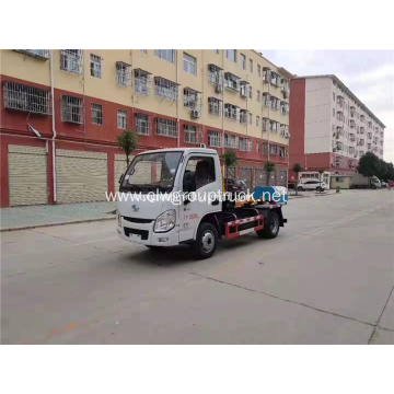 Euro 6 YUEJIN Hook arm garbage truck